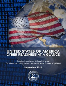 USA Cyber Readiness at a Glance by Francesca Spidalieri