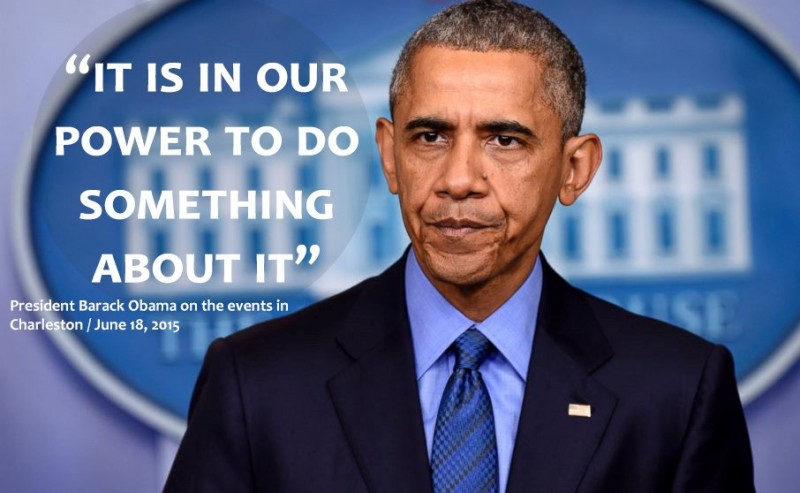 President Obama June 18, 2015 on the events in Charleston
