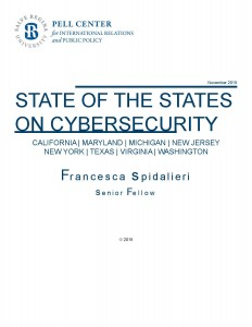 State of the States Report Cover
