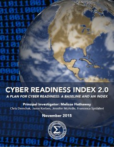 Cyber Readiness Index 2.0 Cover Image