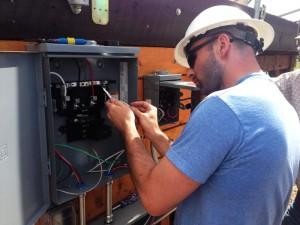 Jonathan Morganstein Electricity Box