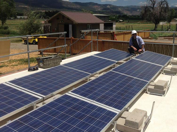Jonathan Morganstein Solar Panels