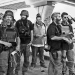 Javier, left, in Aleppo, Syria