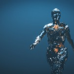 A crudely shaped humanoid figure