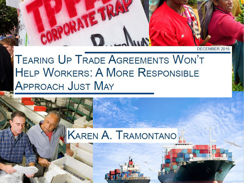 Tearing up trade agreements won't help workers
