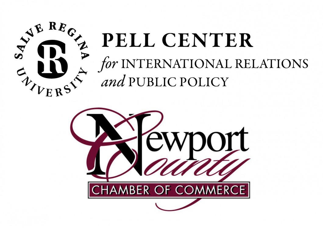 Newport County Chamber of Commerce and Pell Center Logo