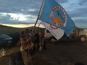 Narangansett tribe stands with Standing Rock