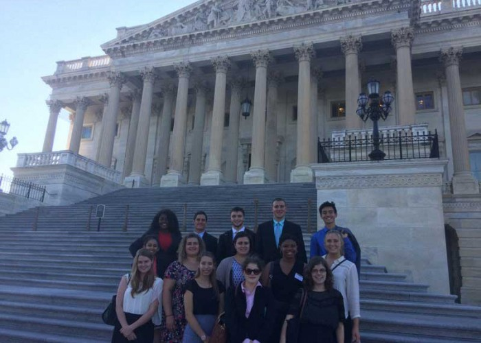 Nuala Pell Leadership Fellows enjoy time in Washington D.C.
