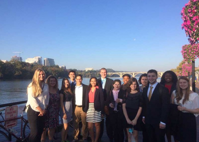 Nuala Pell Fellows participate in program event