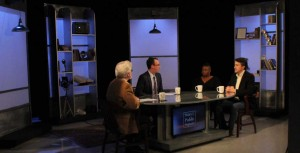 "G. Wayne Miller, Jim Ludes interview Kevin Doyle and Sauda Jackson on ""Story in the Public Square"""