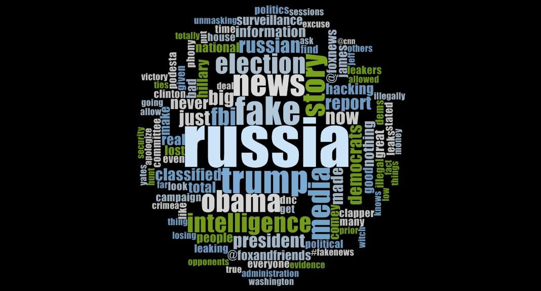 Word Cloud of Trump Russia Tweets