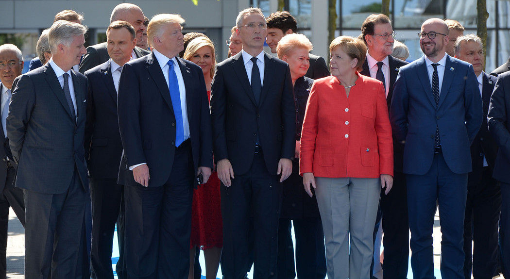 World leaders gathered to discuss NATO.