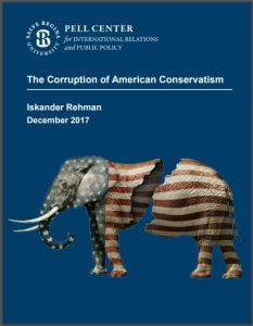 Corruption of American Conservatism