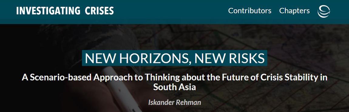 South Asia Iskander Rehman
