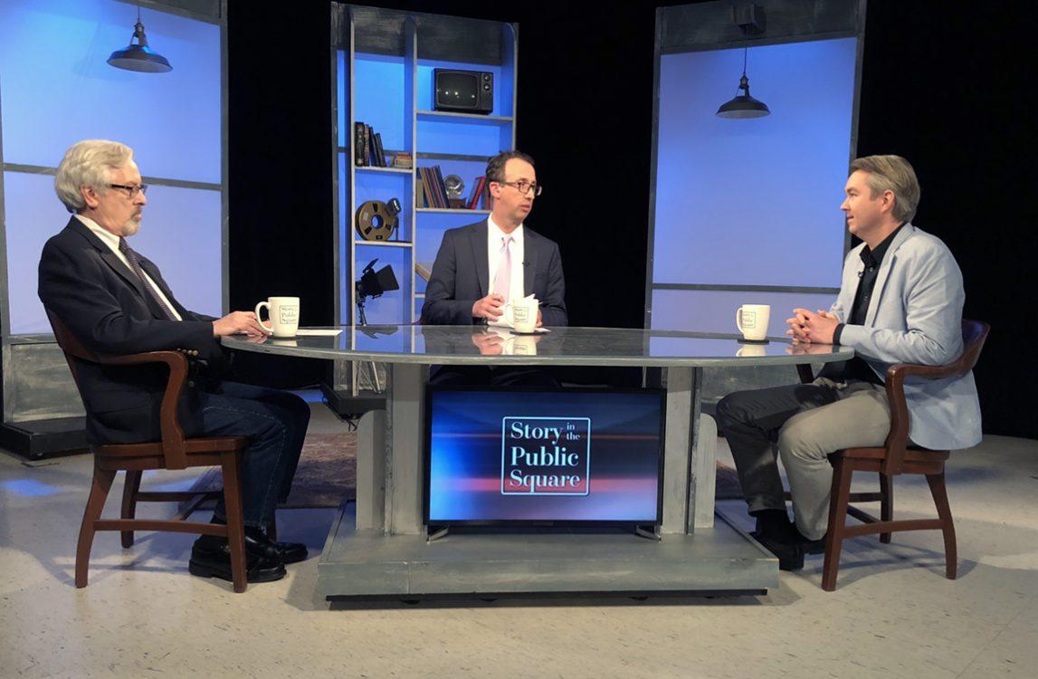 Jacob Groshek, professor of emerging media studies at Boston University on Story in the Public Square