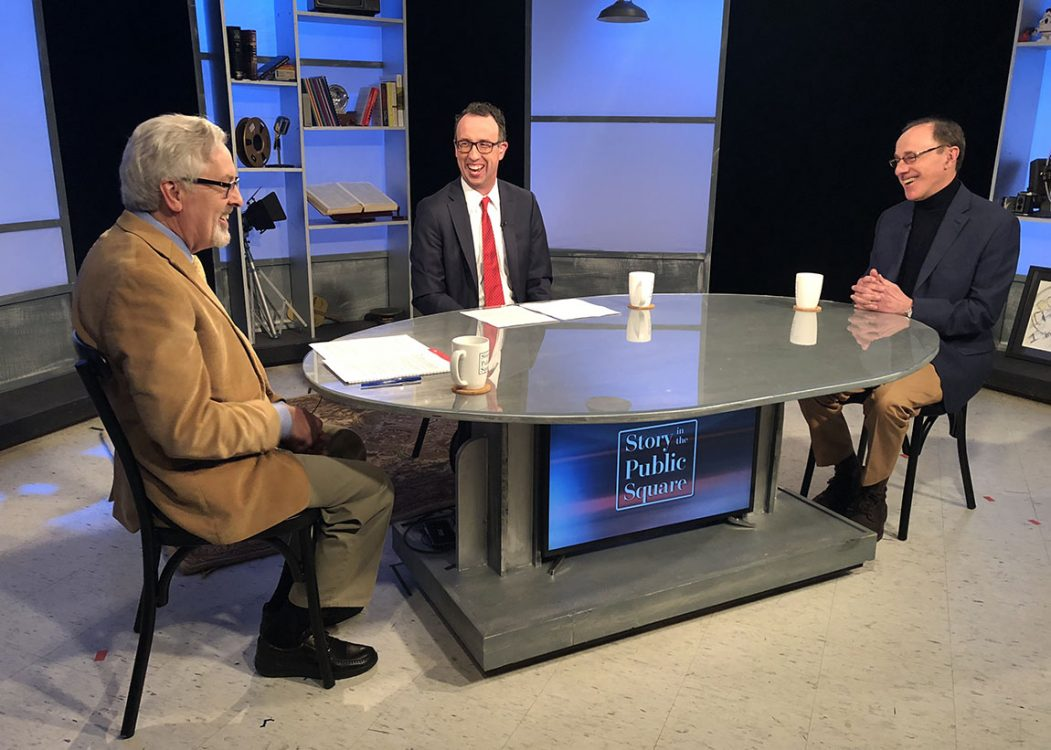 Larry Tye on Story in the Public Square