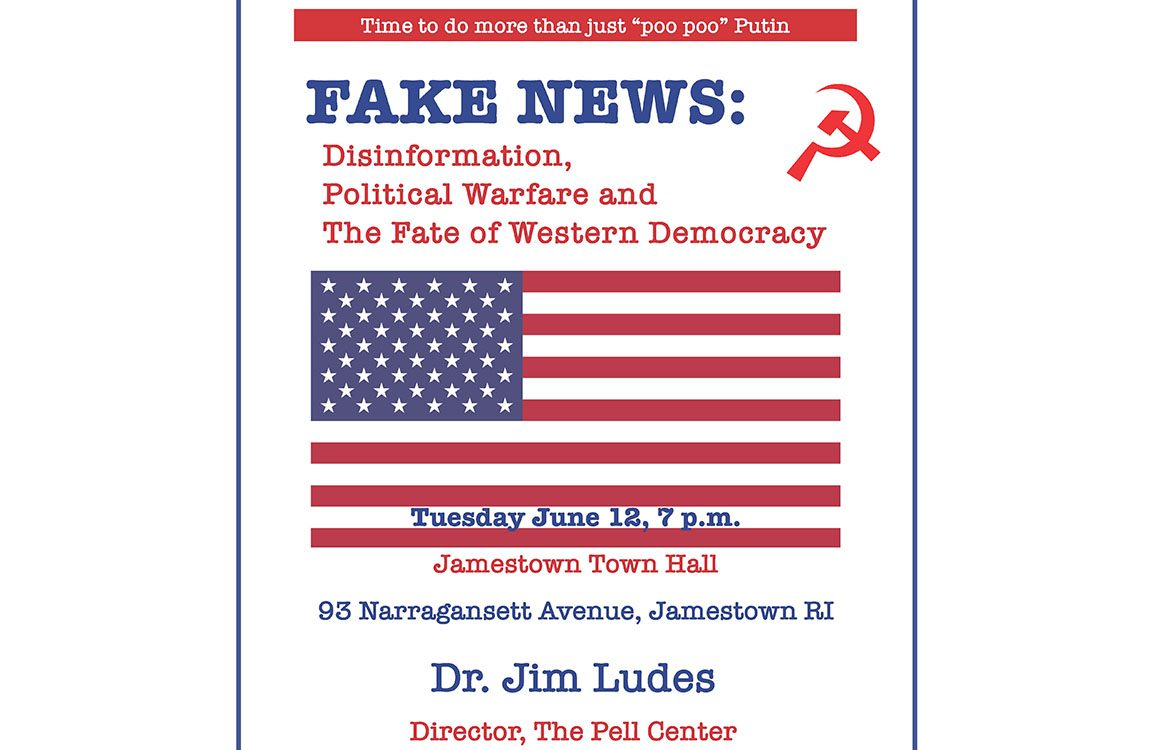 Jamestown Board of Canvassers Fake News Presentation
