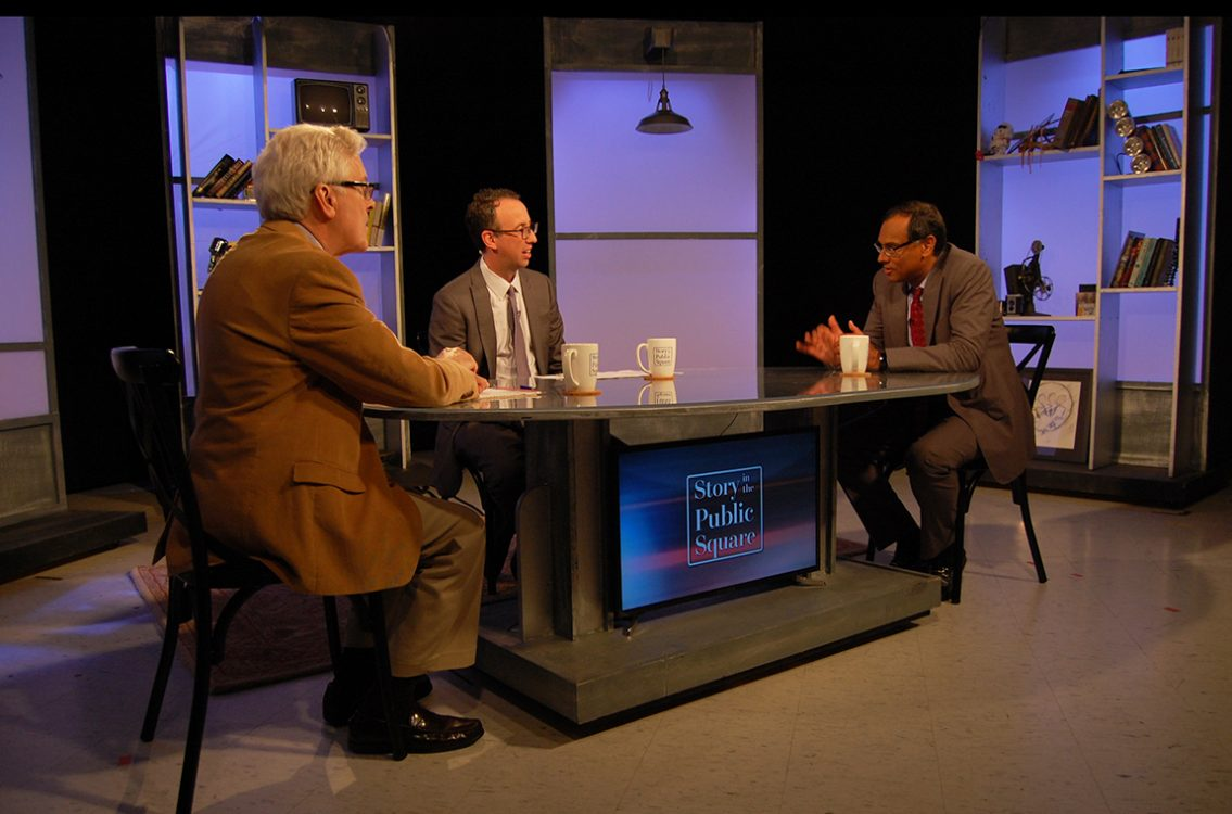 "Sandeep Jauhar on ""Story in the Public Square"""