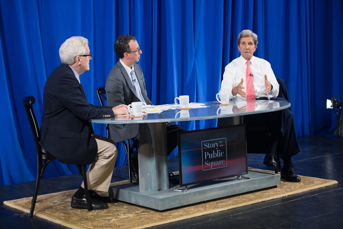 John Kerry on Story in the Public Square