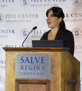 Daphne Matziaraki Pell Center Prize Winner 2017
