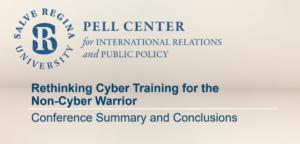 Rethinking Cyber Training